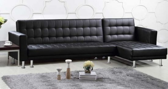 Fill your space with the elegance and prestige of Leather Corner Sofa