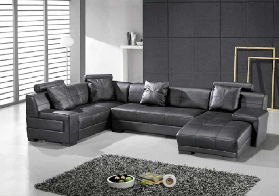 Sectional Reclining Sofas Leather Get the best of 2016 design world by having a leather ...