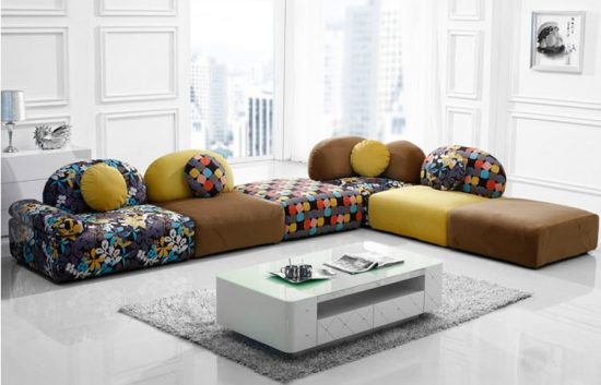 Creative Couch Designs creative sofa cushions ideas to make your sofa look new again