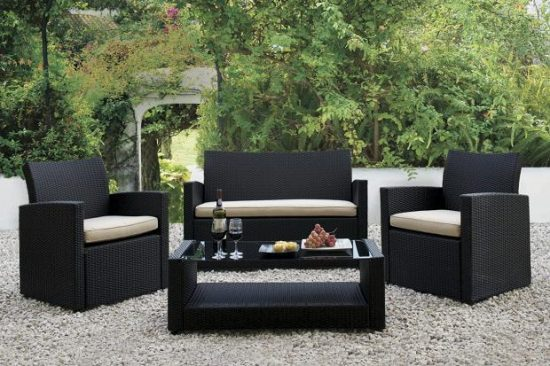 Get the beauty of outdoor furniture inside by 2016 Rattan sofas