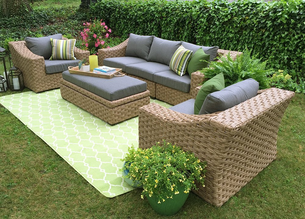 Get The Beauty Of Outdoor Furniture Inside By 2016 Rattan Sofas 6 Get The Beauty Of Outdoor