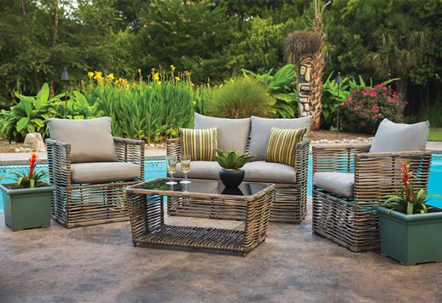Get The Beauty Of Outdoor Furniture Inside By 2016 Rattan Sofas 7 Get The Beauty Of Outdoor
