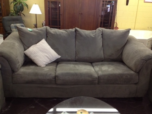 Microfiber sofas i wish i knew about them earlier best for Suede couch