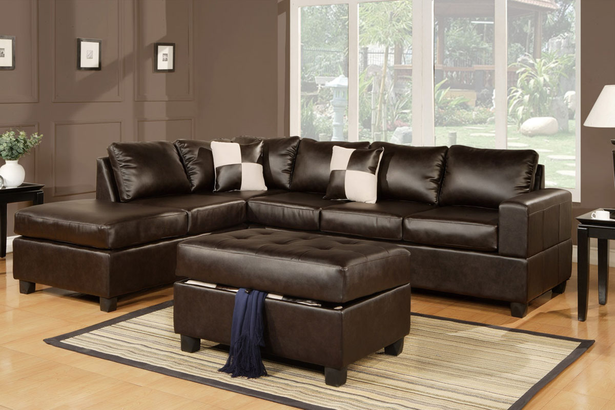 leather living room furniture brown leather | The Advantages of Having a Brown Leather Sofa - Brown ...