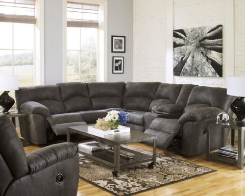 Exceptionnel ... Sectional Sofa With Recliner