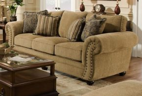 Chenille sofa - the comfort and durability shining in your home