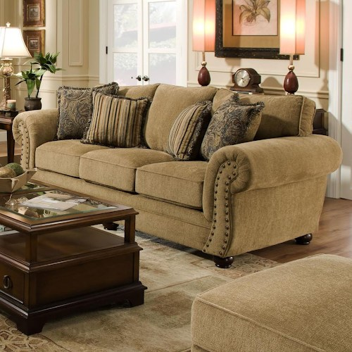 Chenille sofa; the comfort and durability shining in your home