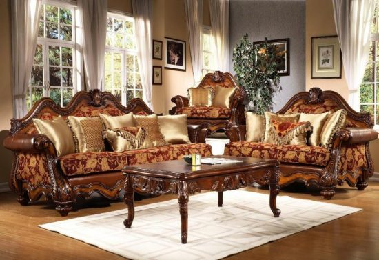 Official sofas for formal areas and elegant living rooms
