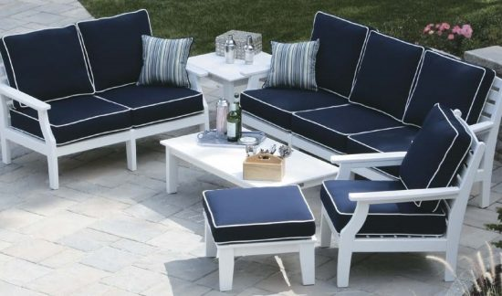 Casual furniture; Comfort, elegance, and charm for indoor/outdoor areaCasual furniture; Comfort, elegance, and charm for indoor/outdoor area