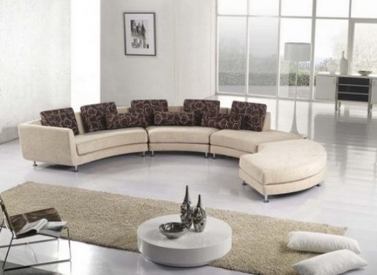 effect of a curved leather sofa upon your apartment leather sofas
