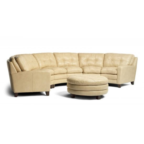 Curved Sofa Sectional Leather: The Incredible Effect Of A Curved Leather Sofa Upon Your