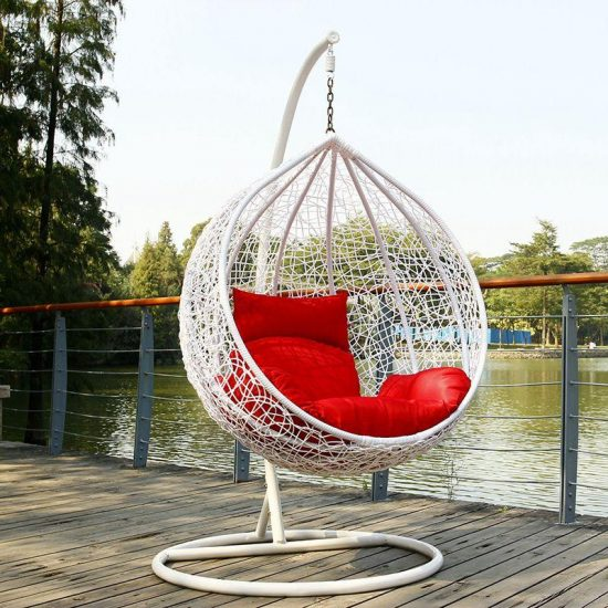 Hanging Egg Chair Enjoy A Peaceful Time Indoors And