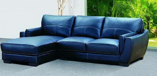 Blue Leather Sofa Bed Lovely 78 For