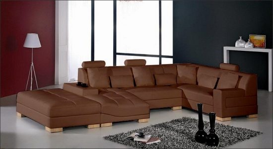 2017 Brown Leather Sofas An Elegant Statement In Your