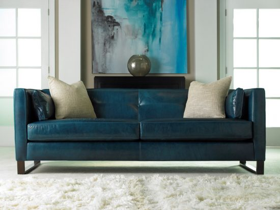 2017 studded leather sofas; add a timeless beauty and comfort