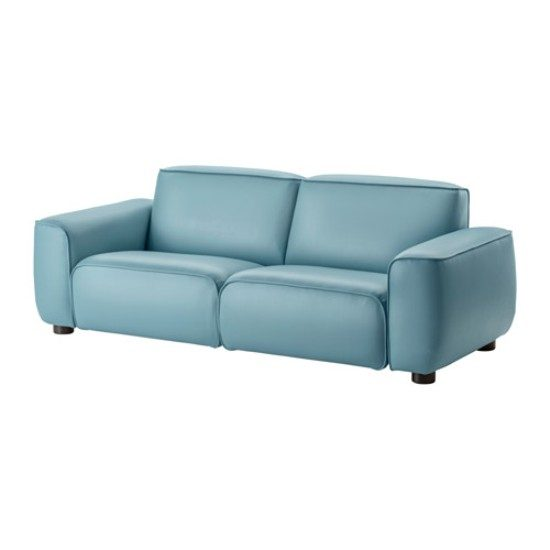 2018 trendy blue leather sofas for bright homes leather for Blue leather sofa