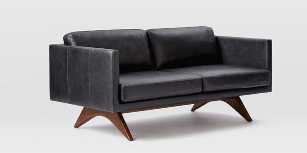 how to get oil out of leather sofa