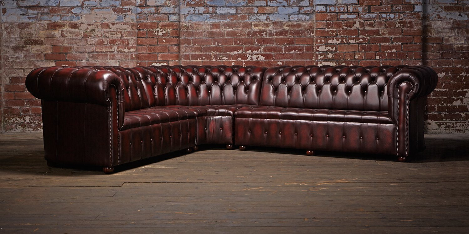 Chesterfield Leather Sofas Classy Addition With Royalty