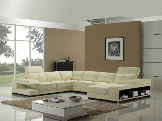 Cream leather sofas the best choice for every space in