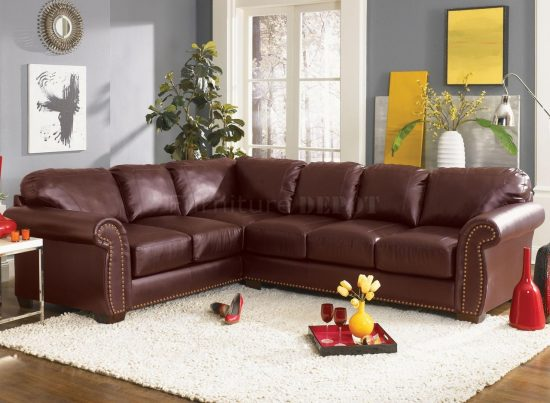 How to choose the best leather sofa size that fit your space dimensions