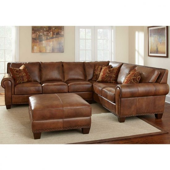 How to choose the best leather sofa size that fit your for Leather sofas for sale