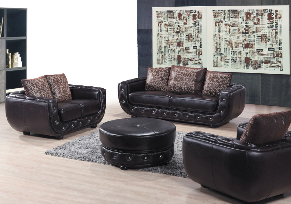 Leather Sofa Set The Best Option For Comfortable And
