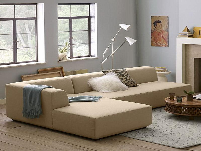 Attrayant Small Cream Leather Sofas For Cozy And Elegant Small Living Space   Leather  Sofas