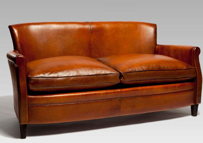 Small Leather Sofas For Trendy And Comfortable Small Spaces In 2017 2 Small Leather Sofas For