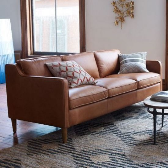 Soft Leather Sofas For A Maximum Comfy And Stylish Living Space Leather Sofas