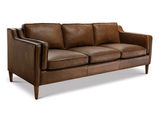 Sofas Styles tan leather sofas for every living space styles in 2017 - leather