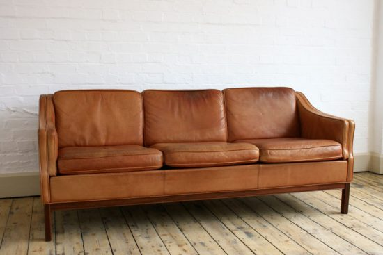 Tan leather sofas for every living space styles in 2017 ...