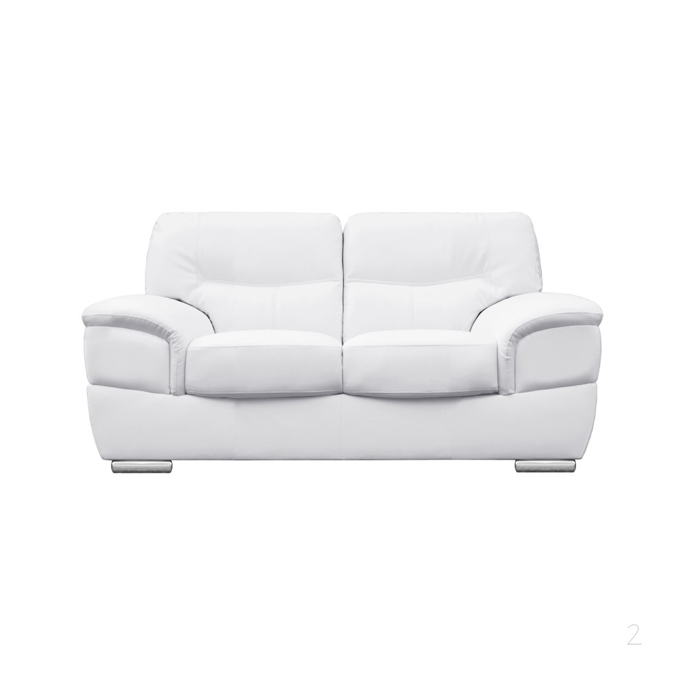 2017 2 seater leather sofas in white best choice to  : 2017 2 seater leather sofas in white best choice to brighten up your space 2 from couchessofa.com size 1000 x 1000 jpeg 30kB