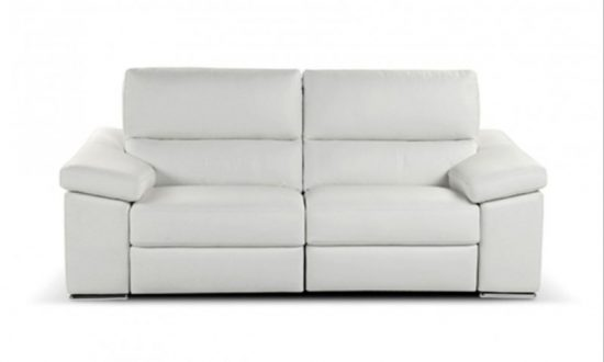 2017 2-seater leather sofas in white best choice to brighten up your space