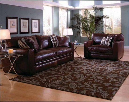 Accessorize your leather sofa with style and adorable accents