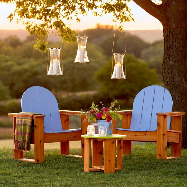 Adirondack Chair Your Way To Create An Outdoor Seating Area Accent Chairs