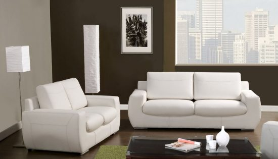 How to clean your white leather sofa to keep it bright as new