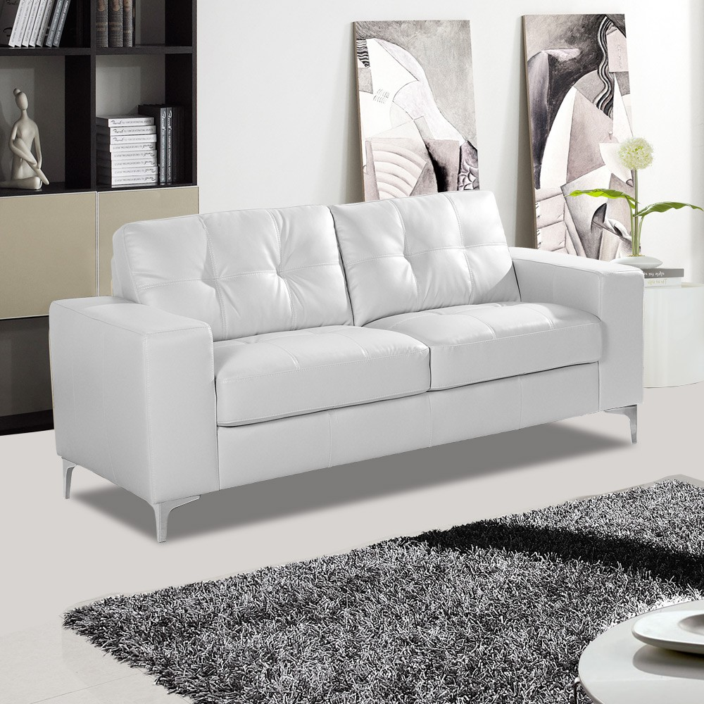 20 Best Collection Of White Leather Corner Sofa: How To Clean Your White Leather Sofa To Keep It Bright As
