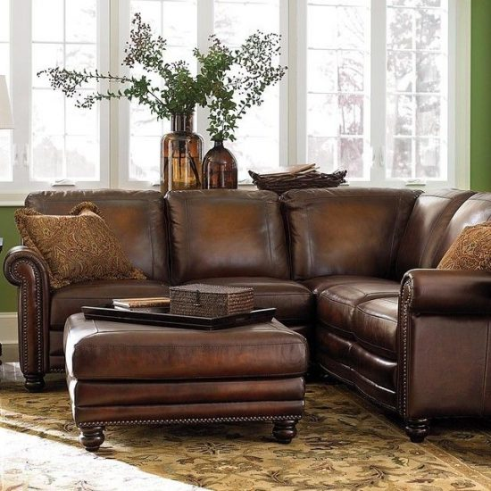 Comfortable Corner Sofa Ideas Perfect For Every Living: The Leather Sofas Are For Every Living Or Office Space In