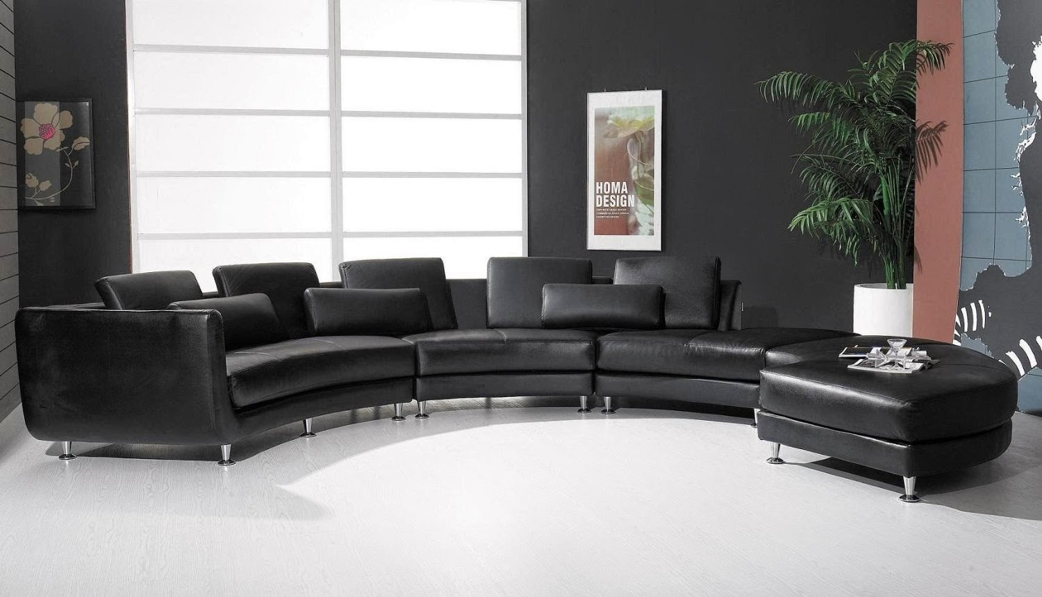 The Leather Sofas Are For Every Living Or Office Space In