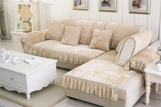 5 ways to cover your living room sofa professionally for Sofas grandes modernos
