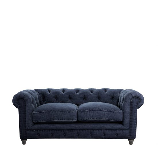 Denim blue sofas for uniquely timeless look in your living space blue sofa Denim loveseat