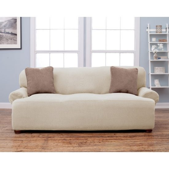 Canvas Slipcover Sofa Images Wingback Couch