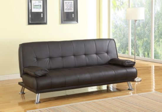 Leather Sofa Bed Designs to Blend with Your Small Space