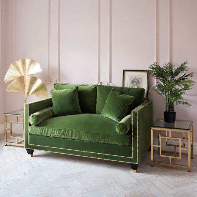 Superb The Effect Of A Green Sofa Upon Your Living Space