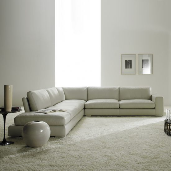 2017 Cream corner sofa; all the best features in only one piece