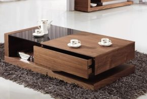 Add style to your coffee table decor to enhance the room beauty