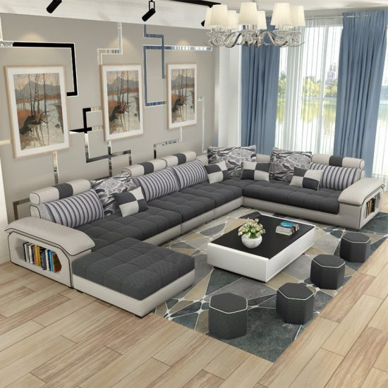 Get A Cozy Living Space With The Comfiest Sectional Sofas