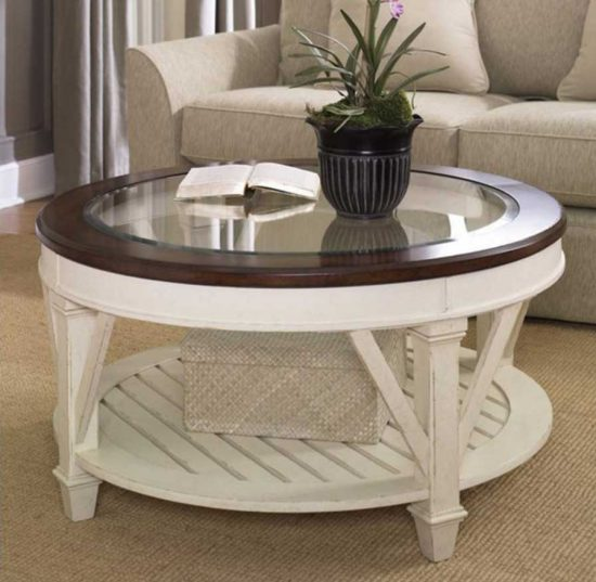 Round Coffee Tables For Smooth, Comfortable And Stylish