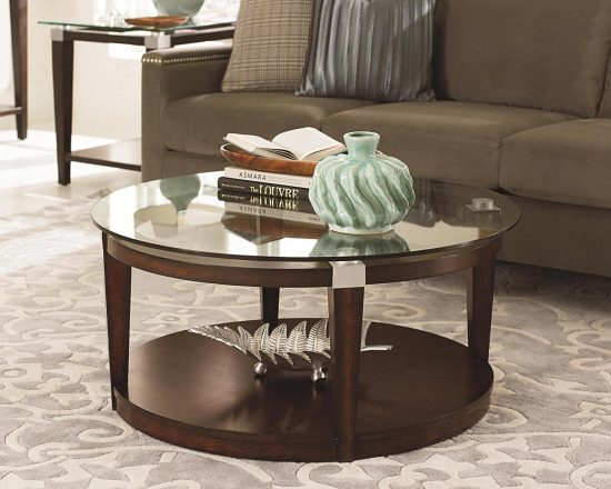 Round Coffee tables for smooth, comfortable and stylish atmosphere ...