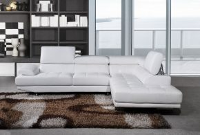 White corner sofas - a sign of elegance, pureness, and style